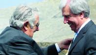 "Mujica aseguró que ""como hombre de partido"" respalda inexorablemente a Vázquez. Foto: M. Bonjour."