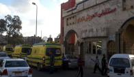 El hospital que recibió a las víctimas de los atentados. Foto: EFE.