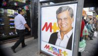 El rostro de Marne Osorio está en todos los barrios de la ciudad. Foto: D. Borrelli.