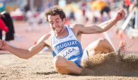 Apoyo. Emiliano Lasa y otros atletas uruguayos recibirán becas y apoyos de empresas privadas para profesionalizarse en sus respectivas disciplinas.