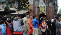 Para mañana se espera que miles de uruguayos se acerquen en busca de su Big Mac.
