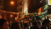 Festejos en Ciudad Vieja por San Patricio. Foto: Agustín Martínez