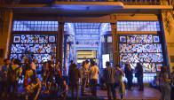 El Centro Cultural de España, uno de los puntos más movidos del circuito. Foto: L. Mazzarovich