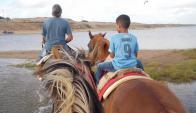 Montar a caballo es una de las principales atracciones de la zona de Garzón.