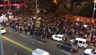 """Milonga inadecuada"" en Plaza Entrevero. Foto: Gabriel Rodríguez"