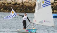 """""""Jano"""" Foglia. Culminó octavo en los Juegos Olímpicos de 2012 y buscará mejorar su actuación en Río 2016."""
