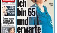 La portada de Bild con Raunigk y su embarazo. Foto: Bild.de