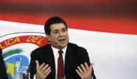 Presidente electo de Paraguay, Horacio Cartes. Foto: AP