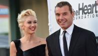 Gwen Stefani y Gavin Rossdale en épocas felices. Foto: Archivo El País.