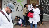 El día que decidieron levantar la ola de paros, el 78% de los maestros había ido a trabajar. Foto: F. Ponzetto