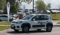 los fines de semana se desarrollará el test drive en algunos centros comerciales de Montevideo