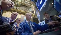 Operadores en Wall Street. Foto: Reuters