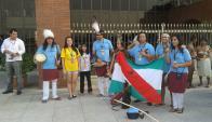 El grupo Choñik envió a ocho delegados a los Juegos Mundiales Indígenas.
