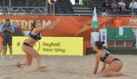Selección Uruguaya de beach volley.