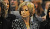 Presidenta del Instituto de Derechos Humanos, Mirtha Guianze. Foto: Archivo El País