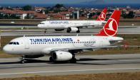 Avión de Turkish Airlines debió aterrizar de emergencia. Foto: Facebook Turkish Airlines