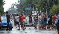 La alegría copa las calles en el Carnaval de La Pedrera. Foto: Ricardo Figueredo