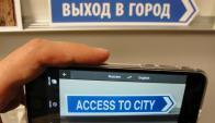 Nuevo Google Translate para imágenes. Foto: AFP