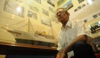 Hamlet Larrañaga tenía 18 años cuando protagonizó el histórico rescate. Foto: F. Flores.