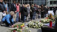 Funeral de Estado en Alemania por las víctimas de Germanwings. Foto: Reuters