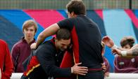 Gales. Los dragones rojos tienen dura prueba con Sudáfrica. Foto: Reuters
