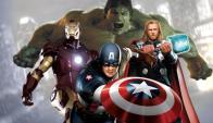 Hulk, Iron Man, Thor y Capitán América: una parte del elenco de Marvel en acción.