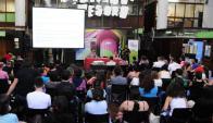 Ayer se presentó en el salón principal del INJU los resultados del programa. Foto: F. Ponzetto