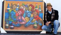 Un pintor en busca de sus ancestrales raíces culturales.