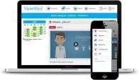 Integral. La solución de ViperMed está disponible para PC y dispositivos móviles. (Imagen: Cortesía ViperMed)