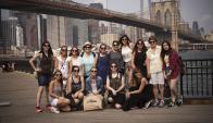 """Nueva York. El primer grupo con Xime Torres ya disfrutó de la """"Gran Manzana"""". (Gentileza Premium Travel)"""