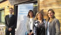 Instituc. Victor Kalpolkas, Ana Abella, Dra. Patricia Nacif y Mercedes Olivera