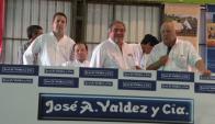 "En ""Don Tito"": 120 Brangus y 40 Red Angus, ""Premium"". Foto: Pablo D. Mestre"