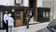 Diyab: después de ocho meses dejó la casa del Pit Cnt. Foto. D. Borrelli