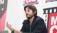 Diego Luna fue a disertar sobre el cine y también sobre su trayectoria profesional.