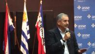 Horacio Porciúncula, director de Salud Mental de ASSE. Foto: María Eugenia Lima