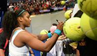 Serena Williams. Foto: Archivo El País.