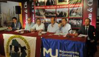 En Trinidad rematan Zambrano y Machín con el Scotiabank. Foto: Pablo Mestre