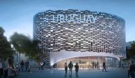 El diseño del pabellón pertenece a un grupo de arquitectos vinculados al INAC. Foto: Archivo