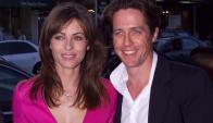 Liz Hurley y Hugh Grant (Foto: archivo)