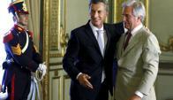 Macri quiere la vuelta con fuerza al merado internacional de la producción argentina. Foto: Reuters.