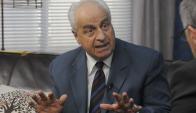Víctor Rossi, ministro de Transporte y Obras Públicas.