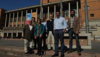 Silva, Varela, Platero y Arcamone, arriba. Fleitas, Nedov y Abt, abajo. Foto: F.Flores.