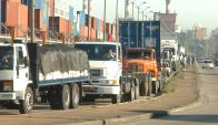 El transporte de carga renovó fuertemente la flota. Foto: F. Flores