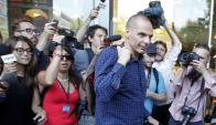 Varoufakis, el hombre intransigente en las negociaciones abandonó el Ministerio de Finanzas. Foto: Reuters