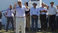 El ministro Aguerre dejó inaugurada la Expoactiva. Foto: Daniel Rojas