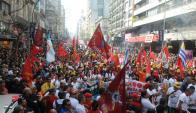 Se espera una aumento dela conflictividad sindical por la ronda salarial. Foto: Francisco Flores