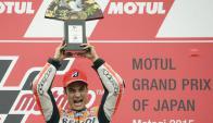 Dani Pedrosa fue el mejor del Gran Premio de Japón. Foto: EFE