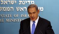 Netanyahu dice que no impedirá a Irán fabricar la bomba. Foto: Reuters.