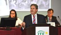 David Haggerty es el nuevo presidente de la Federación Internacional de Tenis. Foto: @ITF_Tennis