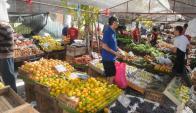 Ferias. Proponen mayor vigilancia Foto: Francisco Flores